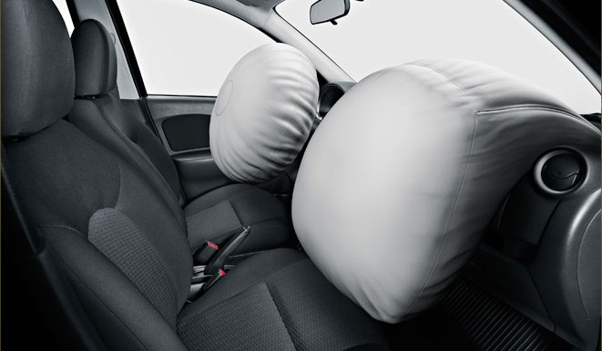 Airbag - Proteção depende do uso do cinto