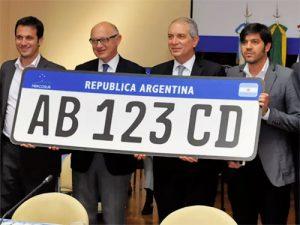 placas unificadas no Mercosul