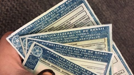 Renovar a carteira de habilitação