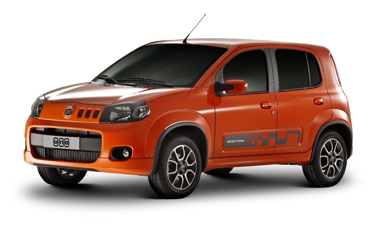 carros mais economicos 2018 UNO SPORTING