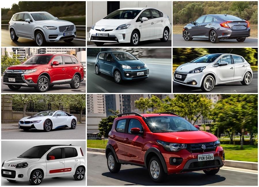 carros mais economicos 2018