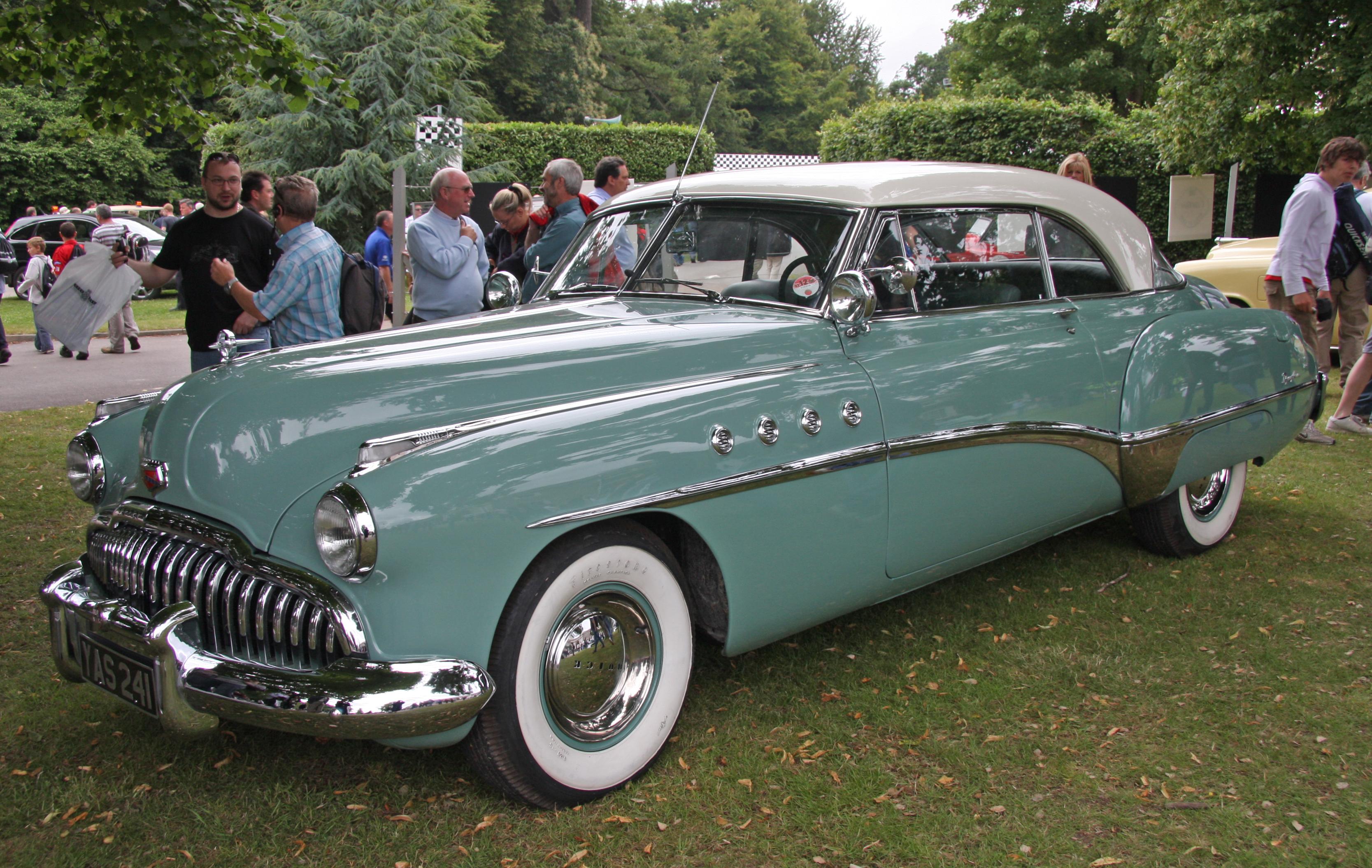 carros antigos Buick Roadmaster 1949