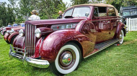 carros antigos Packard 1939 Super 8