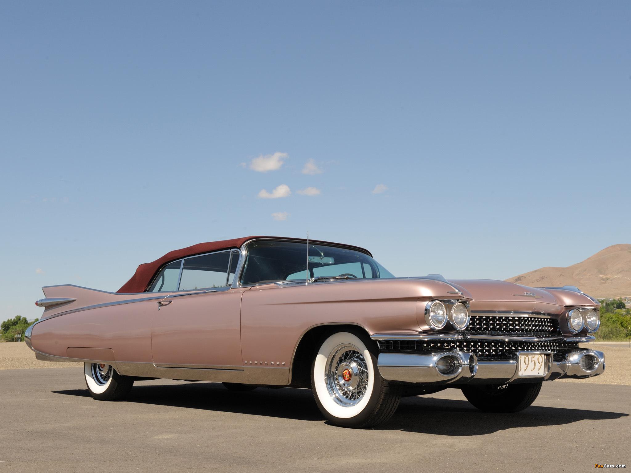 carros antigos - cadilac eldorado 1959