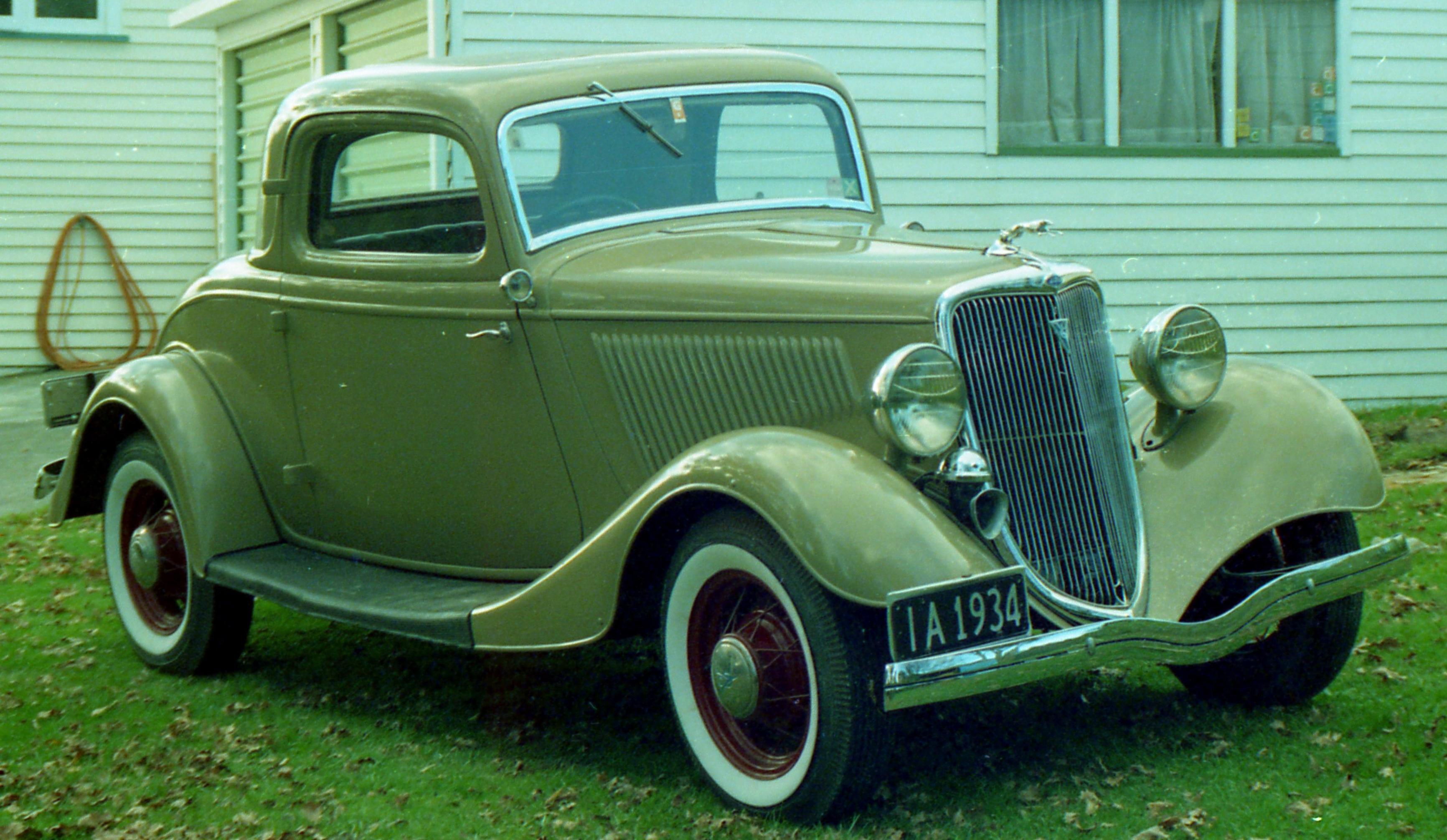 carros antigos ford v8 1934
