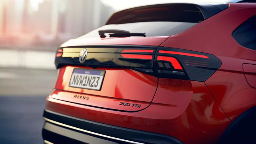 VW Nivus - 2020 fotos traseira